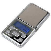 🔝 Весы электронные ювелирные Pocket Scale MH 500, карманные портативные мини весы   По Украине   🎁%🚚, фото 1