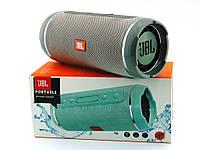 JBL  Flip 6+ T&G116 10W копия, портативная колонка с Bluetooth FM MP3, серая