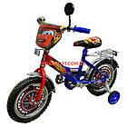 Детский велосипед Mustang Тачки 12 дюймов сине-красный, фото 2