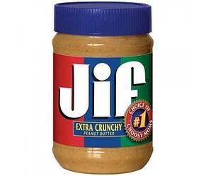 Арахисовая паста (масло) Jif Extra Crunchy, 793 грамм. США