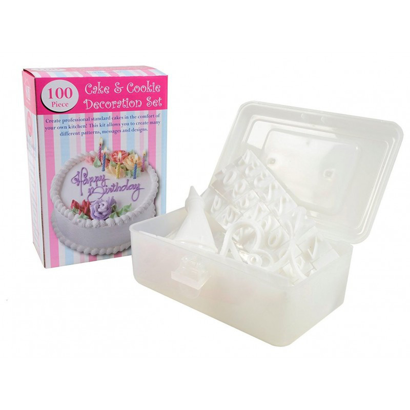 Набор для украшения тортов 100 Piece Cake Decoration Kit  кондитерские насадки для декорации