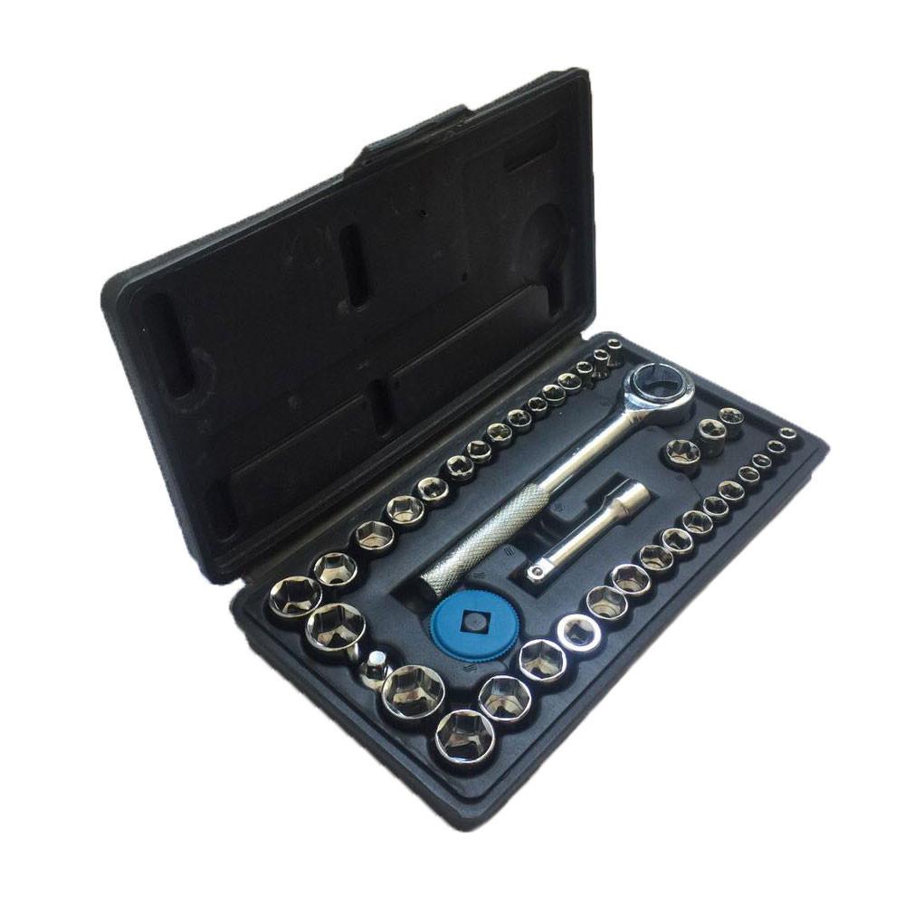 🔝 Набор торцевых головок Extra german style EX-8047 (40 предметов), инструменты для машины | 🎁%🚚