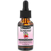 De La Cruz, Rosehip Oil, 100% Pure, Rejuvenating Facial Moisturizer, 1 fl oz (30 ml)