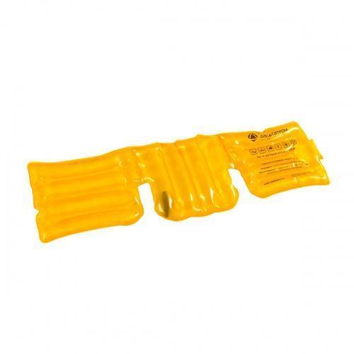 🔝 Солевая грелка «Воротник» - желтая | 🎁%🚚