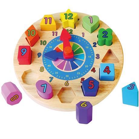 Пазл Часы Viga Toys (59235)
