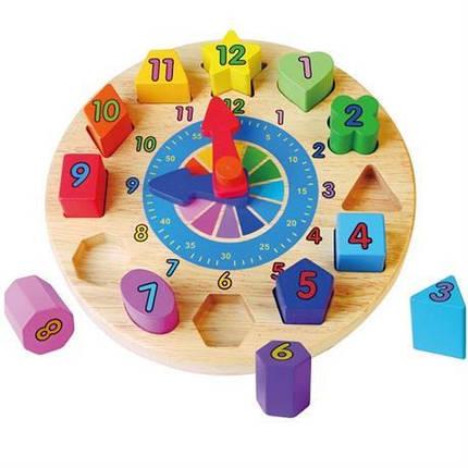 Пазл Часы Viga Toys (59235), фото 2