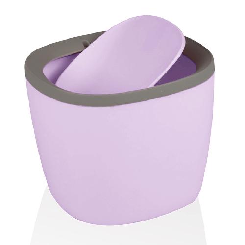 Контейнер для кухонного сміття, настільний, фіолетовий