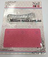 Набор для стемпинга  пластина,штамп и скрапер  Naill Art