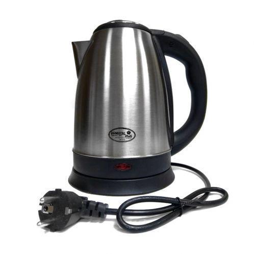 🔝 Чайник электрический Domotec DT805 на 2 литра, электрочайник,+из нержавеющей стали | 🎁%🚚