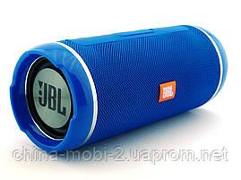 JBL  Flip 6+ T&G116 10W копия, Bluetooth колонка с FM MP3, синяя, фото 2