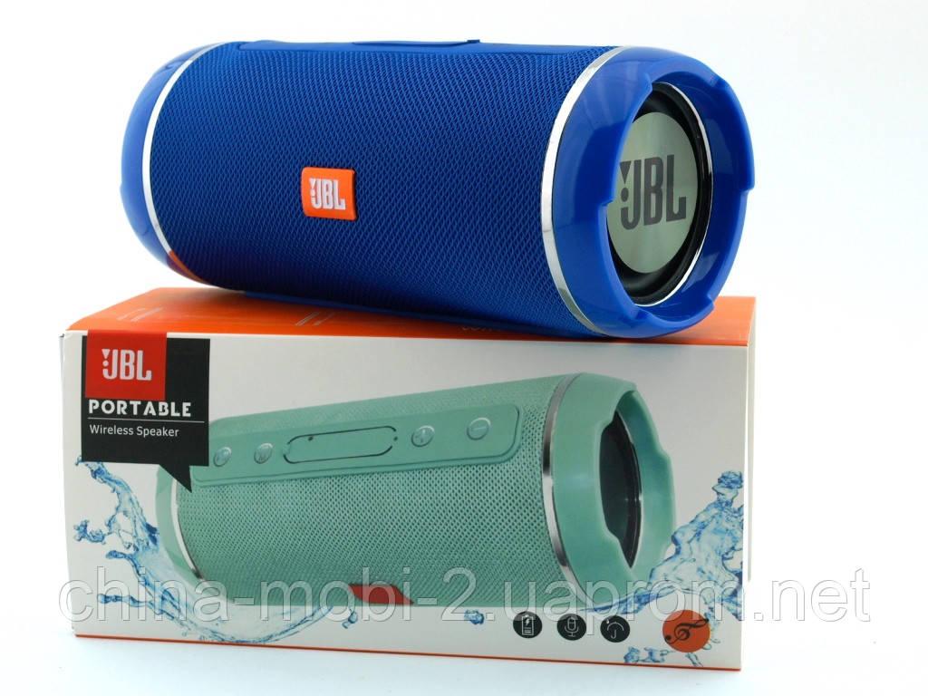 JBL  Flip 6+ T&G116 10W копия, Bluetooth колонка с FM MP3, синяя