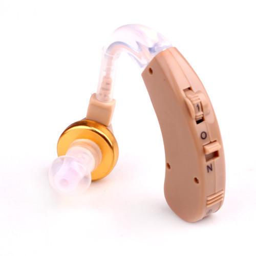 🔝 Заушный аналоговый слуховой аппарат Axon X-168 для пожилых людей, с доставкой по Киеву и Украине   🎁%🚚