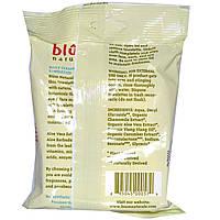 Blum Naturals, Влажные салфетки для ежедневного очищения и снятия макияжа, для нормальной кожи, огурец + Алоэ Вера, 30 шт.