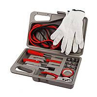 🔝 Автомобильный аварийный набор инструментов Emergency Kit в чемодане, с доставкой по Киеву, Украине | 🎁%🚚