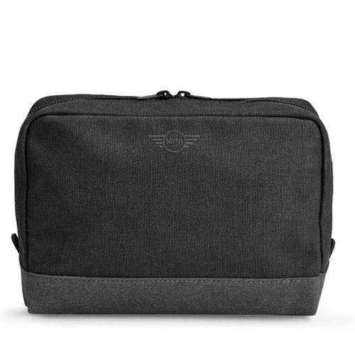 Большая косметичка Mini Pouch Big, Material Mix, Black / Grey, артикул 80212445659