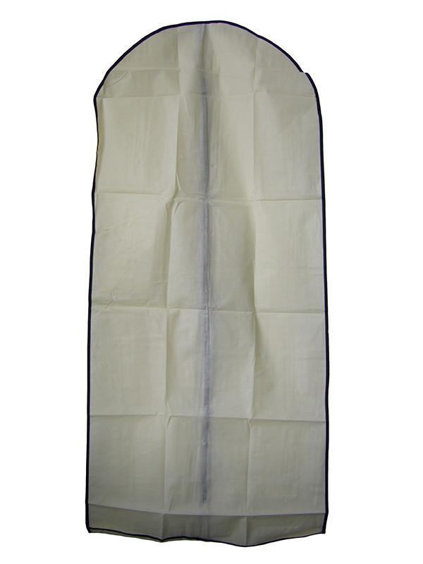 🔝 Чехол для одежды, тканевый, YL-887 (60x137 см.), цвет - бежевый | 🎁%🚚