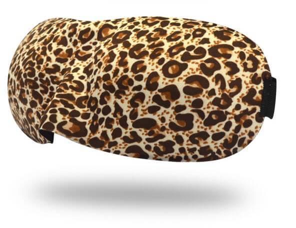Очки для сна 3D леопард