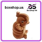 Футляр для кольца Слон коричневый, фото 3