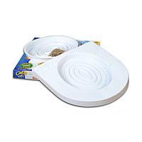 🔝 Набор для приучения кошек к туалету CitiKitty Cat Toilet Training Kit - накладки на унитаз   🎁%🚚