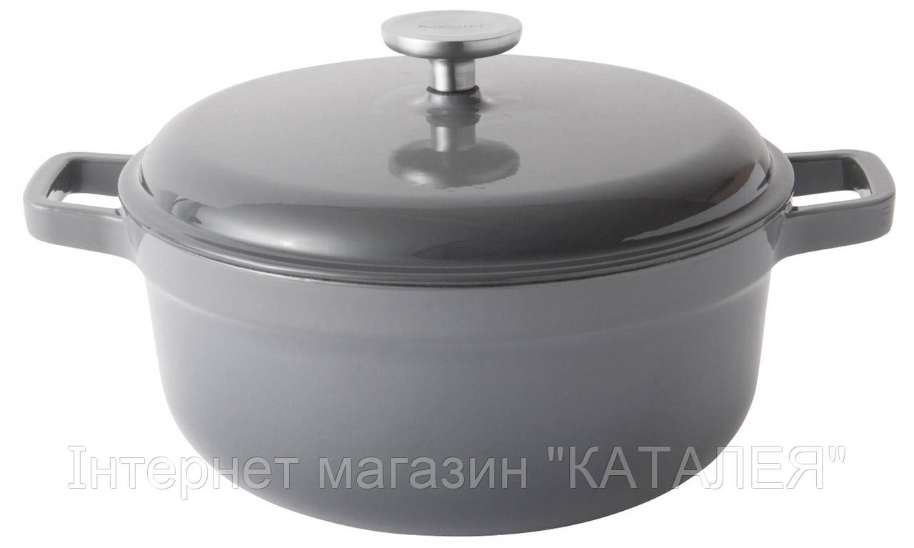 Каструля чавунна з кришкою BergHOFF GEM 4,4 л
