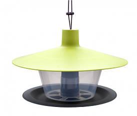 Кормушка для птиц Finch, 28 х 17см, зеленая