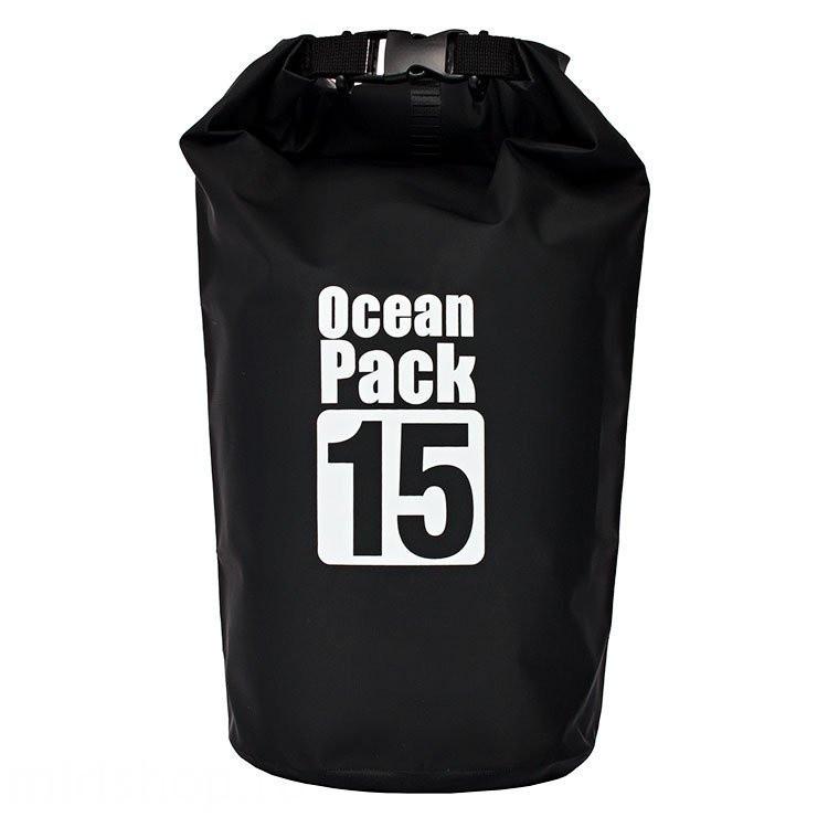 Сумка рюкзак  Water Proof Bag - Ocean Pack  рюкзак мешок  цвет - чёрный