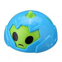 🔝 Детские машинки, Battle Gyro Car, гирокар, в пластиковом яйце - голубой корпус | 🎁%🚚, фото 1
