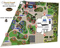 Klipsch LandScape Rocks комплекты ландшафтной фоновой акустики для участка до 15 соток, фото 1