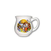 Чашка чайная фигурная керамическая, фото 1