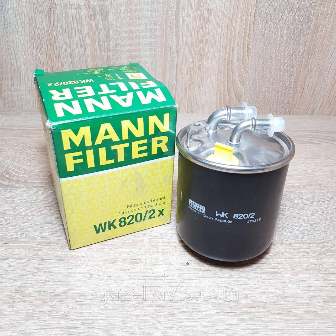 Фильтр топливный Mercedes-Benz Sprinter  (пр-во MANN)