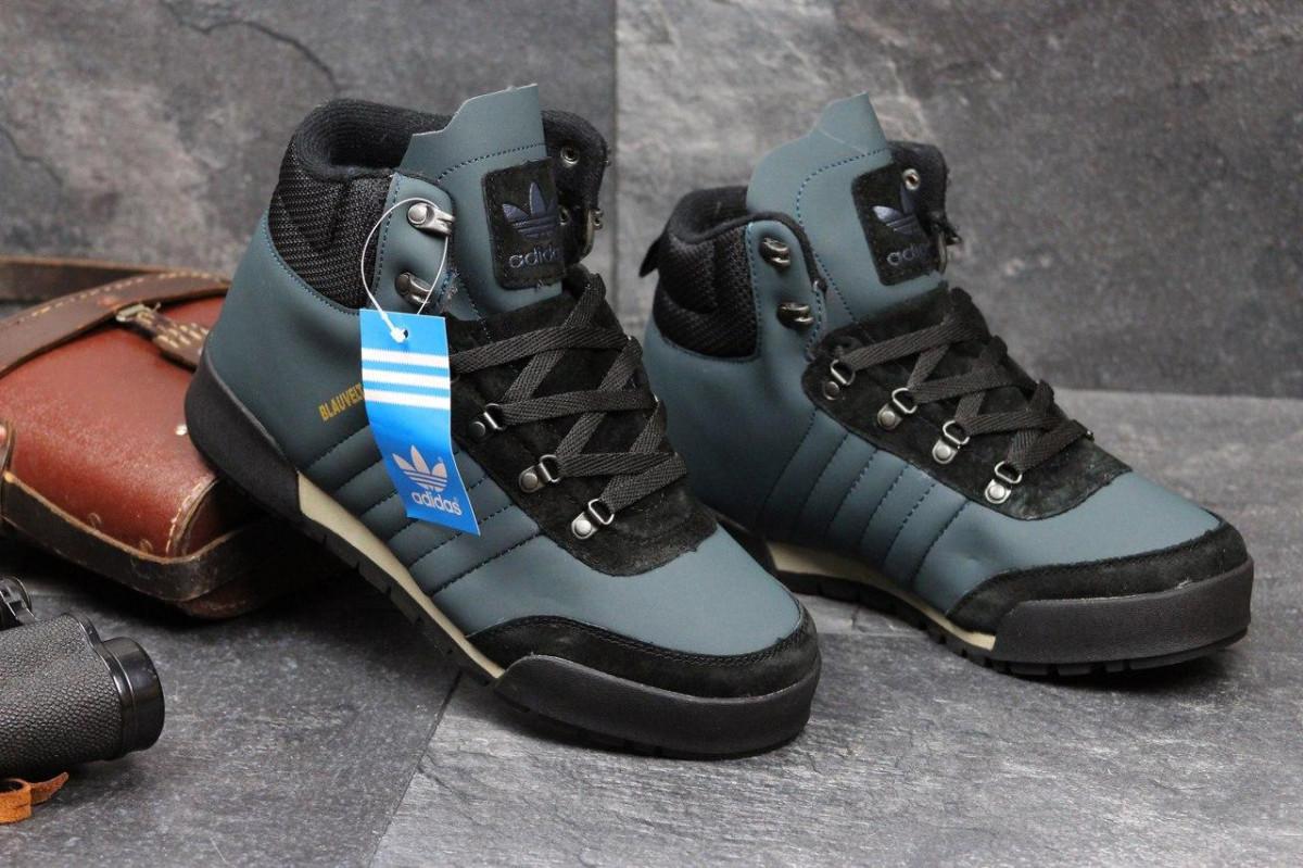 c22efbda Мужские зимние кроссовки Adidas Blauvelt темно голубые 3602: продажа ...