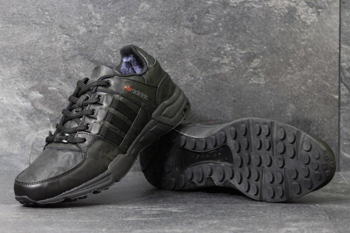 fbf40b00 Мужские зимние кроссовки Adidas Equipment черные 3793: продажа, цена ...