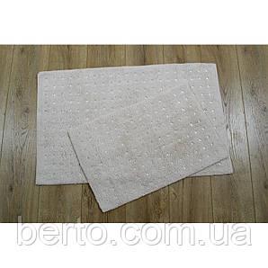 Набор ковриков для ванной комнаты Irya - Esta bej бежевый (40*60 + 55*85)