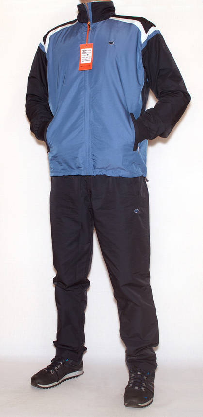 Мужской  спортивный костюм плащевка Piyera 4031 (M-L), фото 2