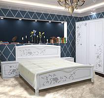 """Двоспальне ліжко """"Ванесса еко"""" 160*200  від Світ меблів ."""