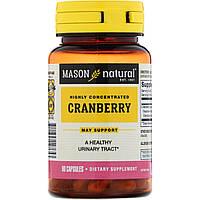 Mason Natural, Клюква, высококонцентрированная, 60 капсул