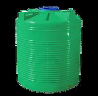 Емкость 2000 л вертикальная, зеленая