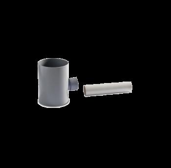 Подключение к водосточной трубе Ø80 мм, фото 2