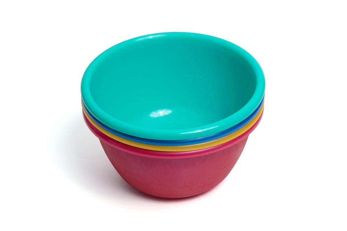 Миска салатна, пластмасова, 2 л, Він