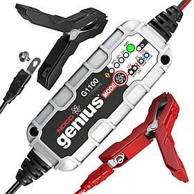 Зарядное устройство для автомобильного аккумулятора NOCO GENIUS G1100EU, IP65, 1,1 А, 30 Вт, гарантия 5 лет
