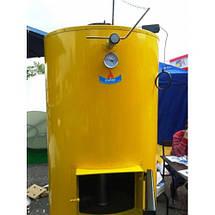 Двухконтурный котел на твердом топливе Буран new 40 + ГВС, фото 3