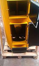 Двухконтурный котел на твердом топливе Буран new 50 + ГВС, фото 3