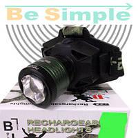 Налобный фонарь Police BL-6901 White+Purple