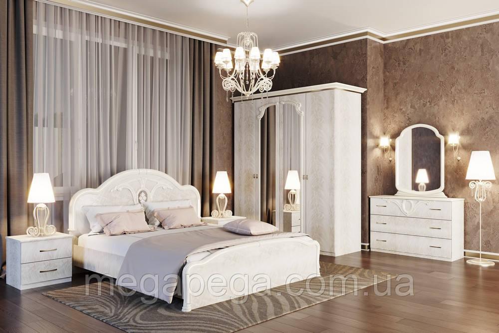 Спальня Лаура, продается комплектом и по модулям