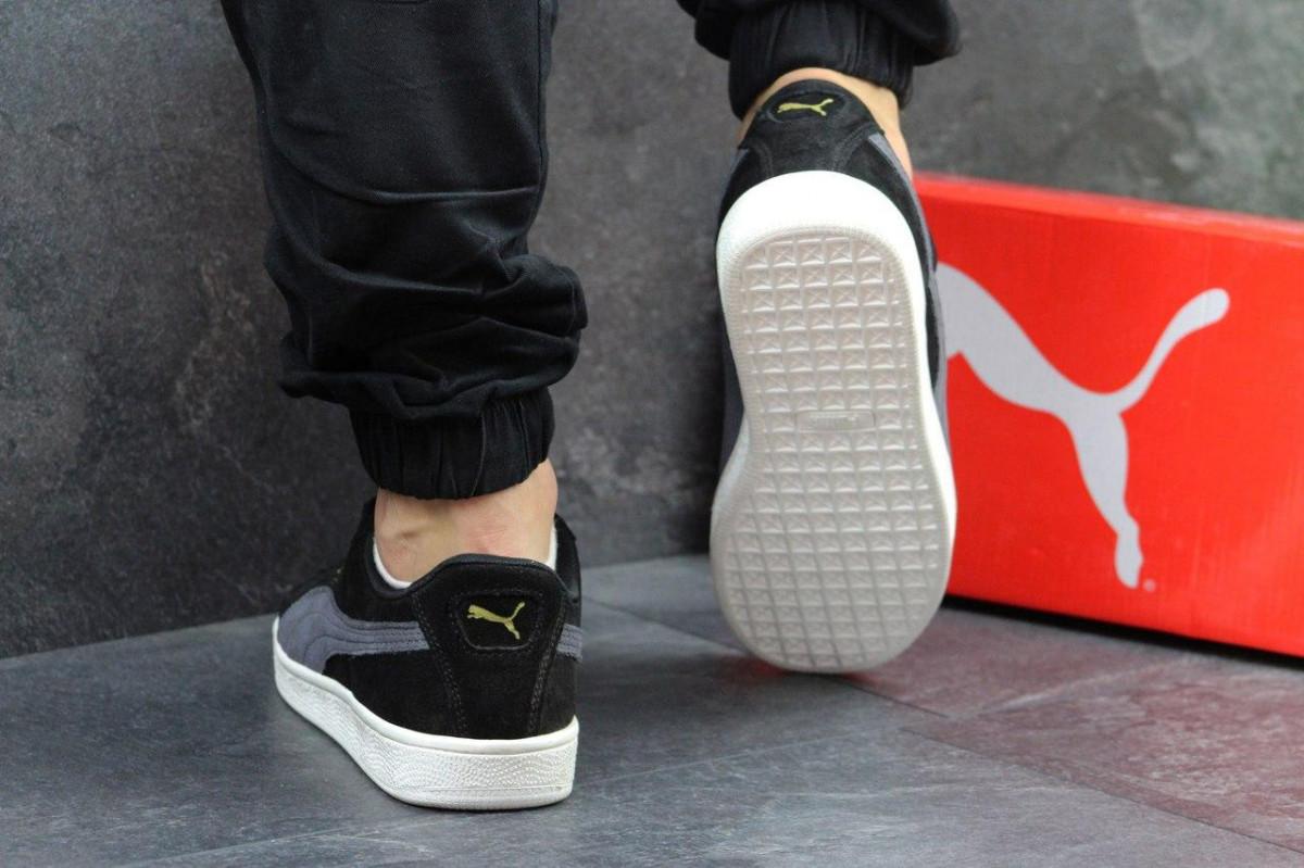 233d2da0d40d0b Мужские кроссовки Puma Suede черные 2886: продажа, цена в Днепре ...