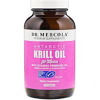 Dr. Mercola, Антарктическое масло криля для женщин, 270 капсул