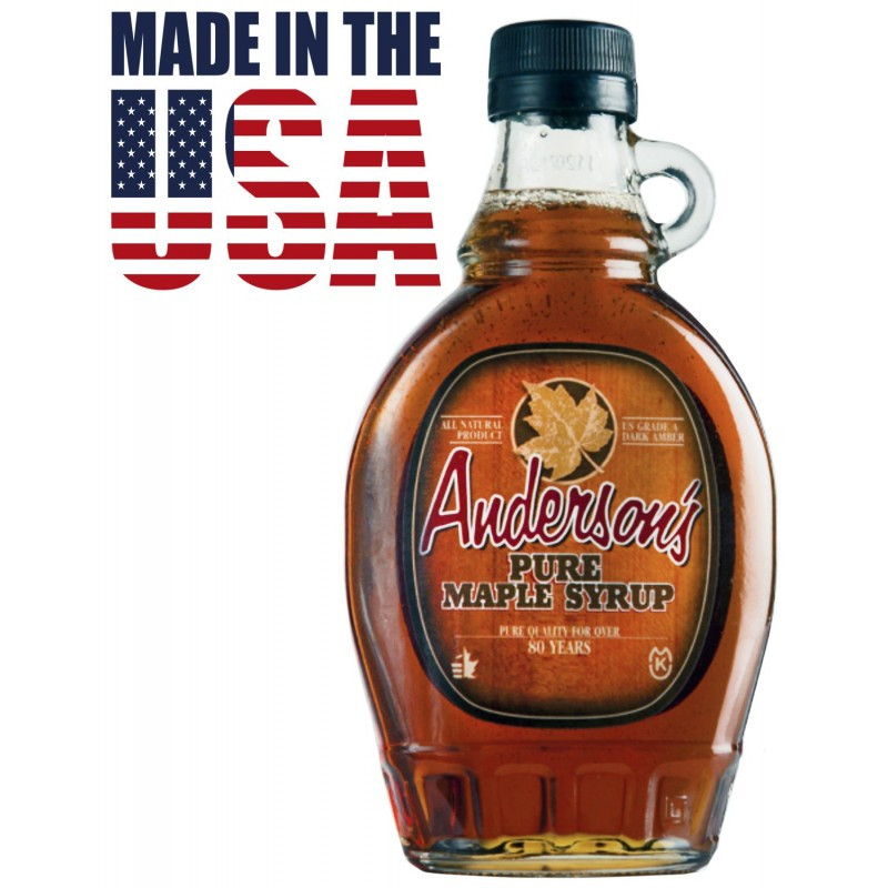 Кленовый сироп Anderson's Grade A Pure Maple Syrup, 355 мл. США