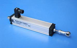 Датчик линейного перемещения серии LTC-V с аналоговым выходом 0-10(0-5)V DC и штоком со сдвоенным подшипником