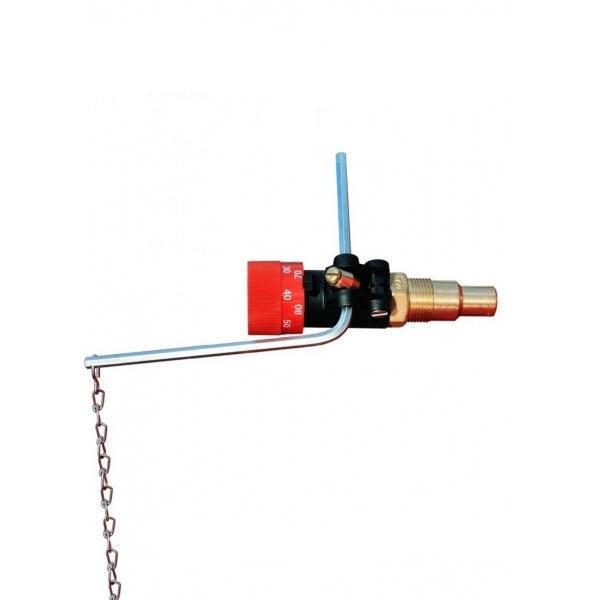 Регулятор тяги для котла Honeywell FR124-3/4A с цепочкой