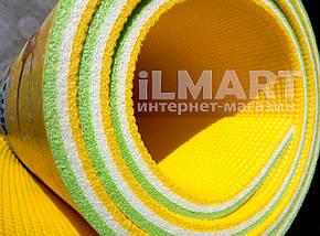 "Игровой коврик для ползания ребенка ""Мадагаскар"" PREMIUM XXL 2500x1200x12мм, фото 2"